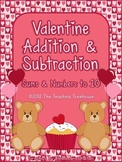 Valentine Addition & Subtraction Within 10