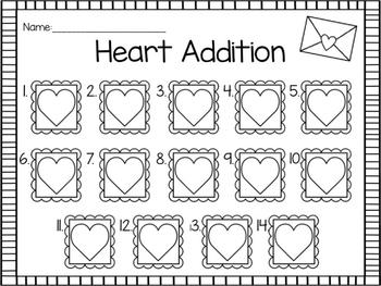 Valentine Addition Write the Room