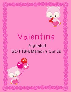 Valentine Alphabet Cards