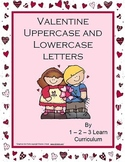 Valentine Alphabet Cards and Writing Book