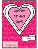 Valentine Alphabet Game(includes differentiated instruction)