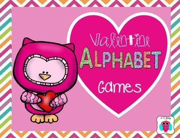 Valentine Alphabet Games