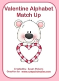 Valentine Alphabet Match Up