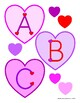 Valentine Alphabet Set for Bulletin Boards, Banners & More!
