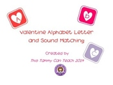 Valentine Alphabet & Sound Matching