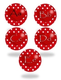 Valentine Alphabets & Numbers