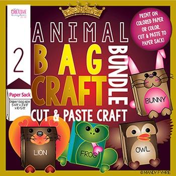 Valentine Animal Craft Bag Bundle 2