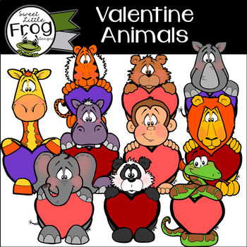 Valentine Animals Holiday Pack