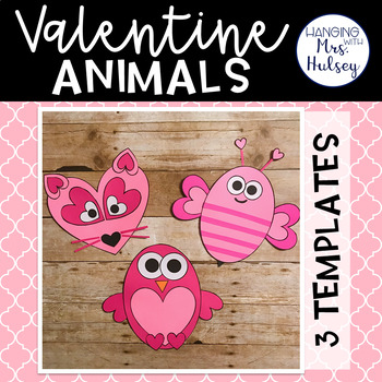 Valentine Bag Craft Teaching Resources | Teachers Pay Teachers