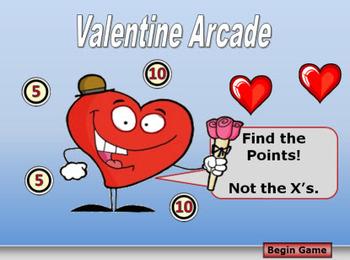 Valentine Arcade PowerPoint Game