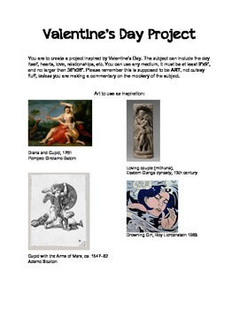 Valentine Art Assignment