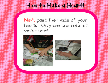 Valentine Art Projects-3 Hearts and Friendship Banner PDF Version
