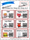 Valentine and February Art Projects: QR Codes for How-To D