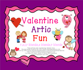 Valentine Artic Fun - Later Sounds: r,s,l,r blends,s blends,l blends
