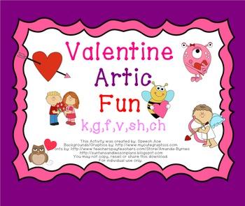 Valentine Artic Fun: k,g,f,v,sh,ch