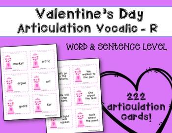 Valentine's Day Speech Therapy: Articulation