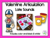 Valentine's Day Articulation: Late Sounds for Speech Therapy
