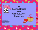 Valentine Articulation R Words Board Games