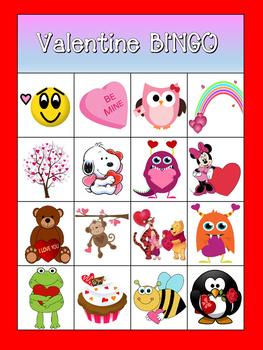 Valentine BINGO for the Little Ones
