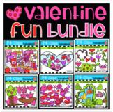 Valentine BUNDLE Growing FUN (Valentine's Day Clipart) P4 Clips Trioriginals