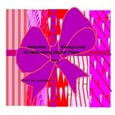 Valentine Background Digital Paper Pack
