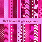 Valentine Background Papers for Personal and Commercial Use