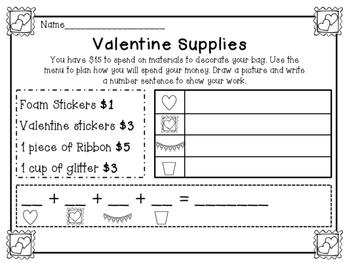 Valentine Bag Economics/Budgeting