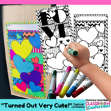 "Valentine Bag ""Pattern Picture"": Fun Valentine's Day Activity"