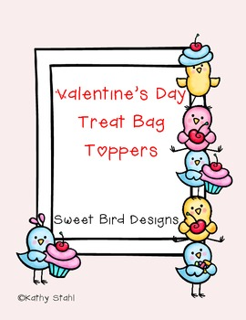Valentine Bag Toppers