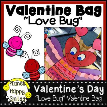"Valentine Bag or Bulletin Board ""Love Bug"" Craft"