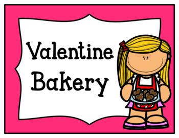 Valentine Bakery (Dramatic Play)