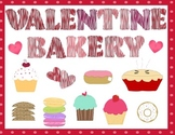 Valentine Bakery Sign and Menu