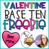 Valentine Base Ten Freebie