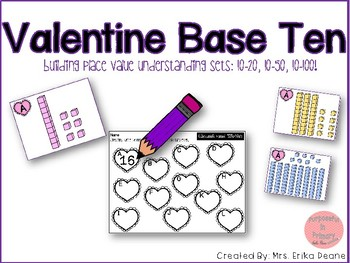 Valentine Base Ten Place Value