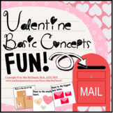 Language Therapy Activity for Valentine's Day: Basic Conce