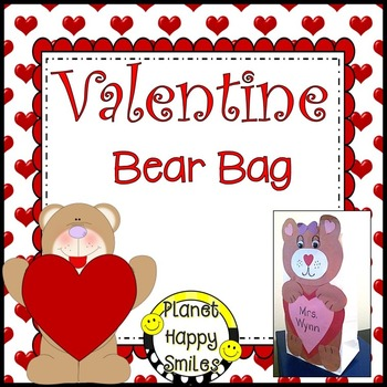 Valentine Bear Bag