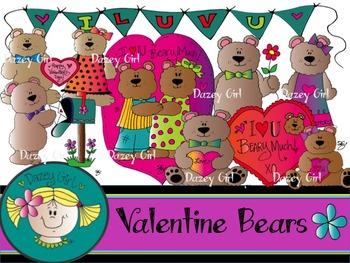 Valentine Bear Clip Art