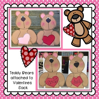 Valentine Sack Bear Craft: February Craft