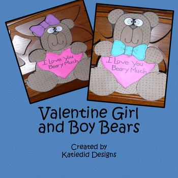 Valentine's Day Bear Crafty