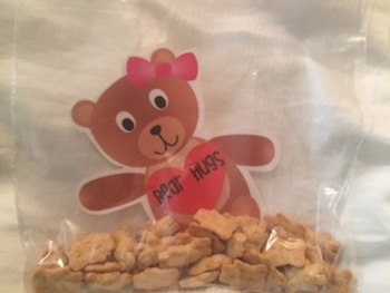 Valentine Bear Hugs for Student Gifts