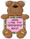 Valentine Bear craft