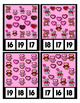 Valentine Bears Owls Hearts Clip Cards for Counting to 20 ~ Math Center Fun
