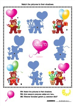 Valentine Bears Shadow Game, Commercial Use Allowed
