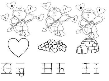 Cupid Beginning Letter Sounds