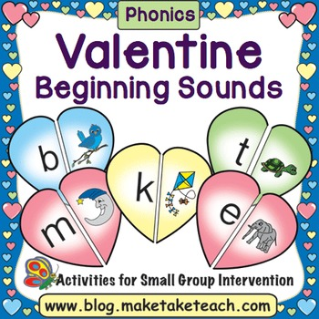 Alphabet - Valentine Beginning Sound Match