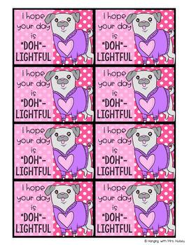 Valentine Behavior and Reward Notes