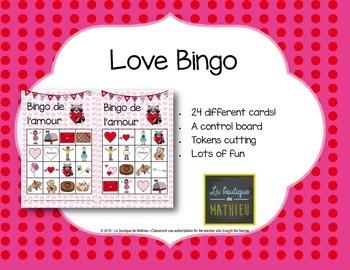 Valentine Bingo (24 cards)