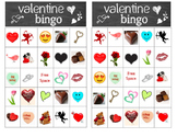 Valentine Bingo - 24 different Valentine cards for a fun b