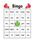 Valentine Bingo Boards Primer 1st Grade