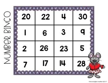 Valentine Bingo Centers